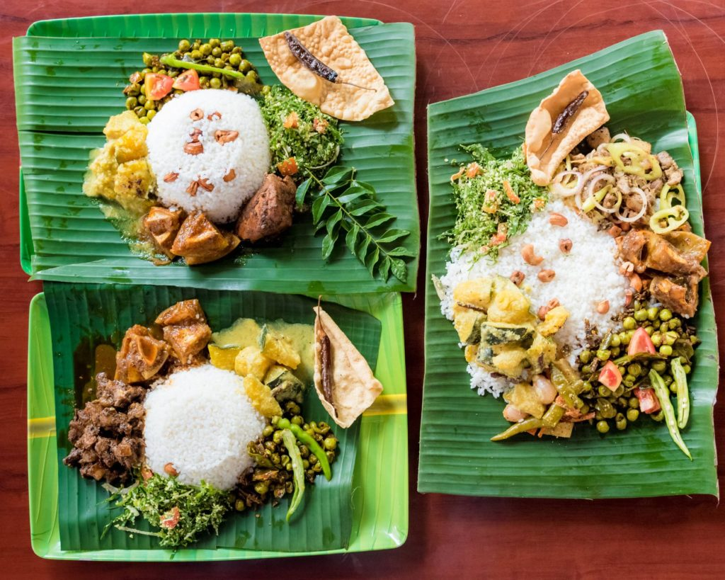 Sri Lankan meal