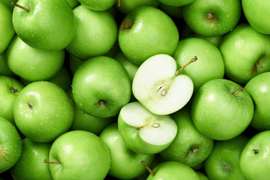 Apples are tasty and have a low GI index