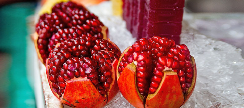 Pomegranate is a healthy fruit with lots of health benefits and can help you to cut down sugar