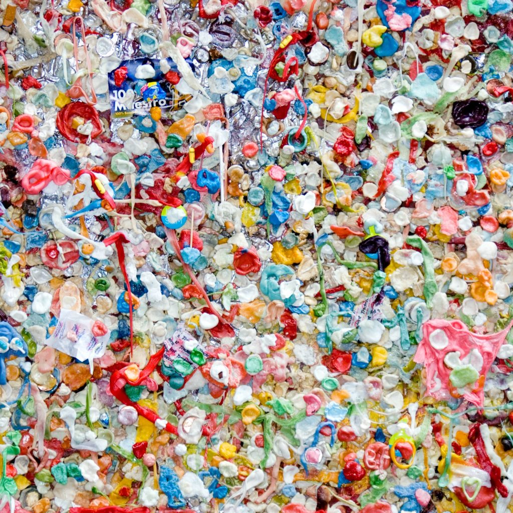 Everyday large amounts of microplastics gets dumped into the sea
