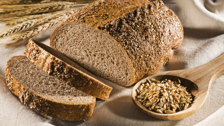 Wholegrain bread is healthier than white bread