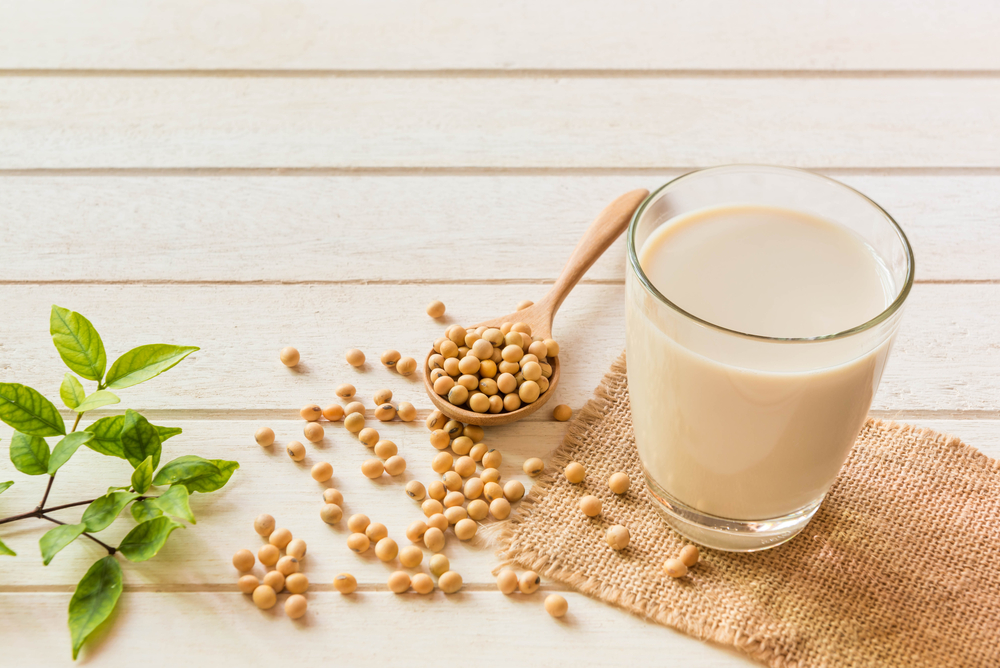 Soy milk is the most popular vegan milk