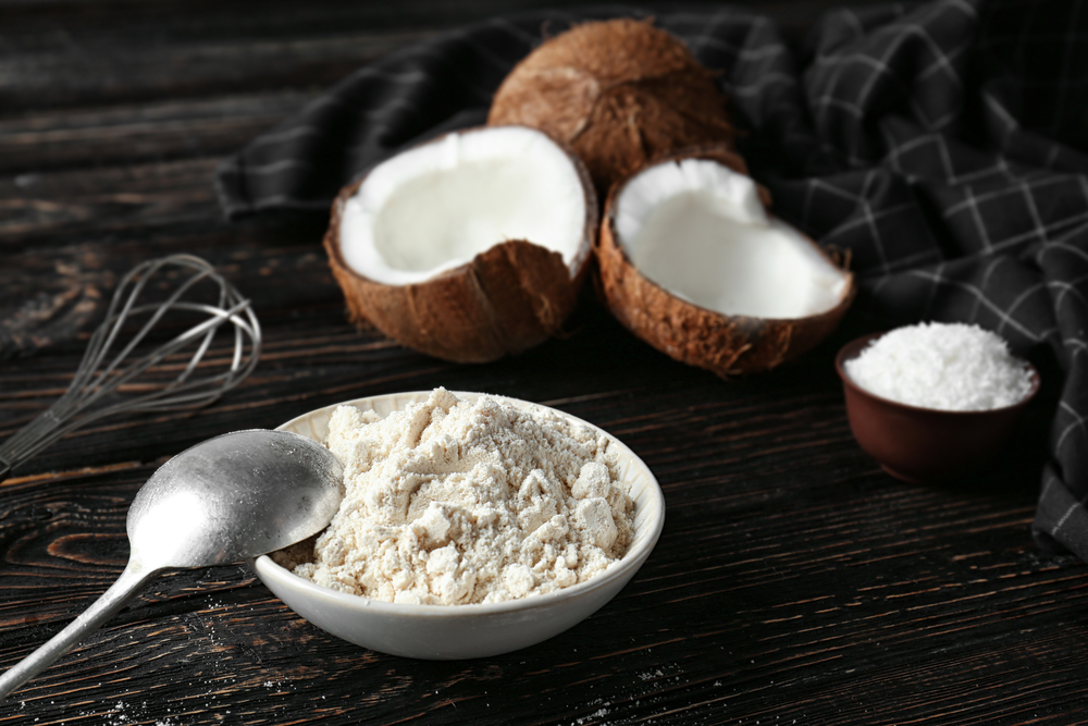 Coconut flour is a good replacement for wheat flour